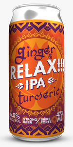 Relax !!! IPA: 6 Pack 473ml can