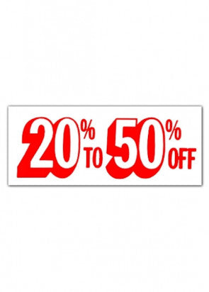 20% To 50% OFF