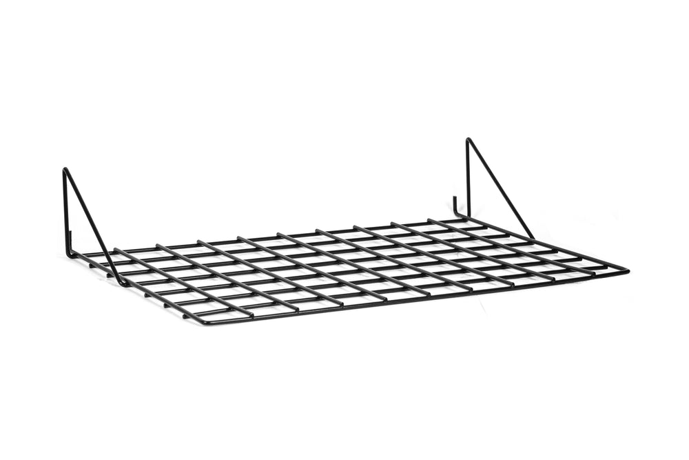 Wire Gridwall & Slatwall Shelf