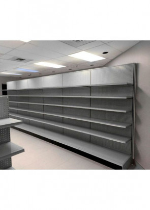 Used Starter Wall Gondola Shelving