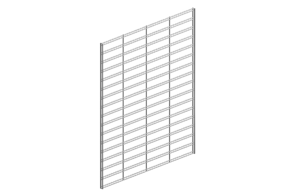 Slat-Grid Panels