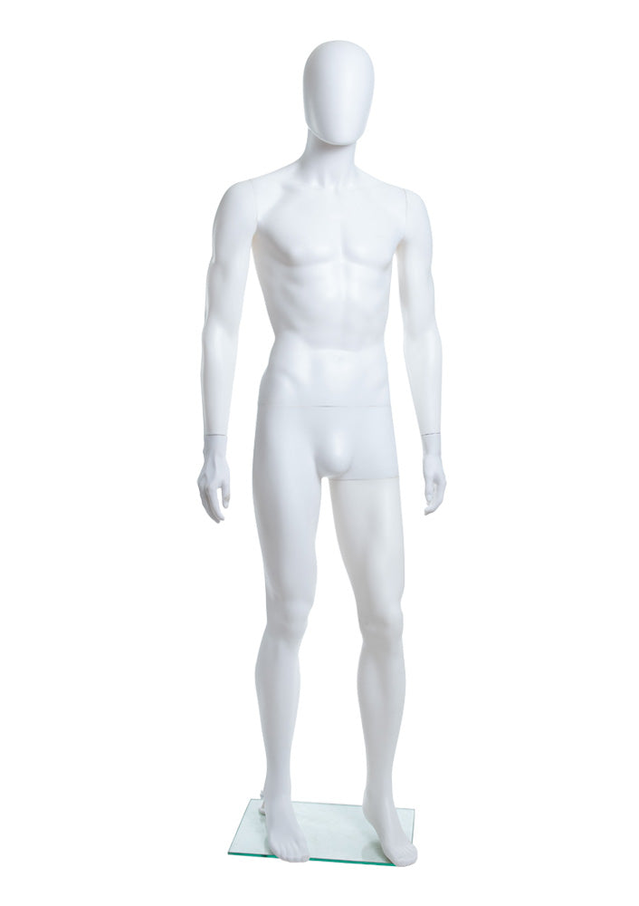 Adult Male Abstract Plastic Mannequin