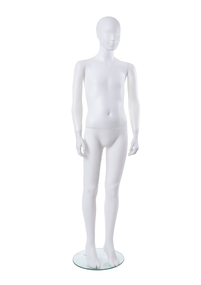 Teen Abstract Plastic Mannequin