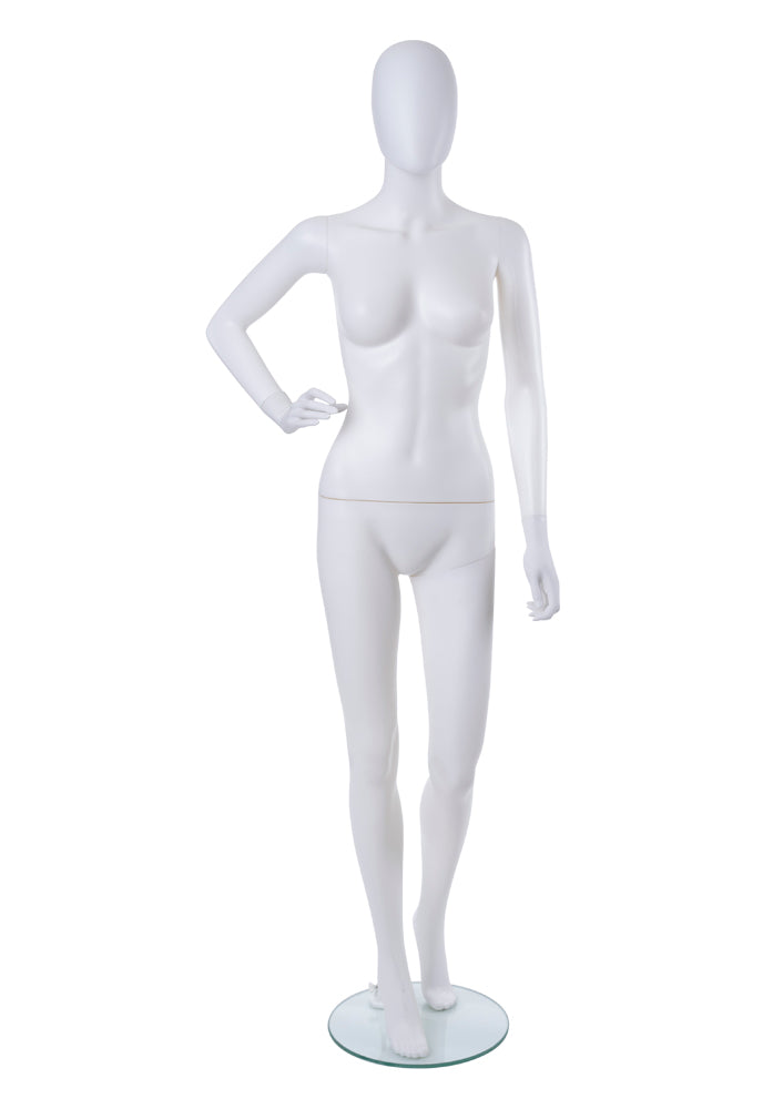 Adult Female Plastic Abstract Mannequin