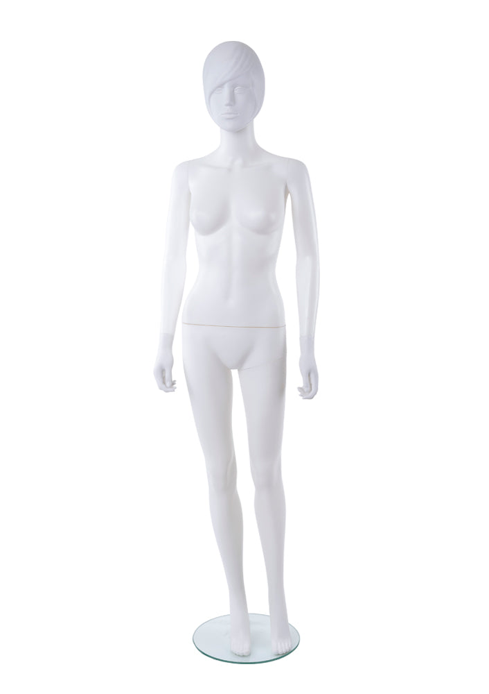 Adult Female Abstract Plastic Mannequin
