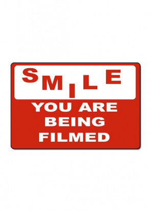 Smile You Are Being Filmed