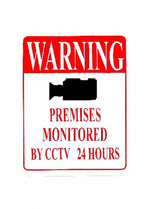 Warning Premises Monitored