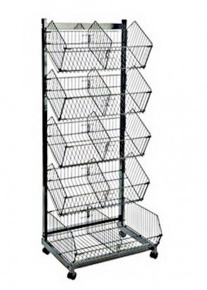 Wire Basket Merchandiser
