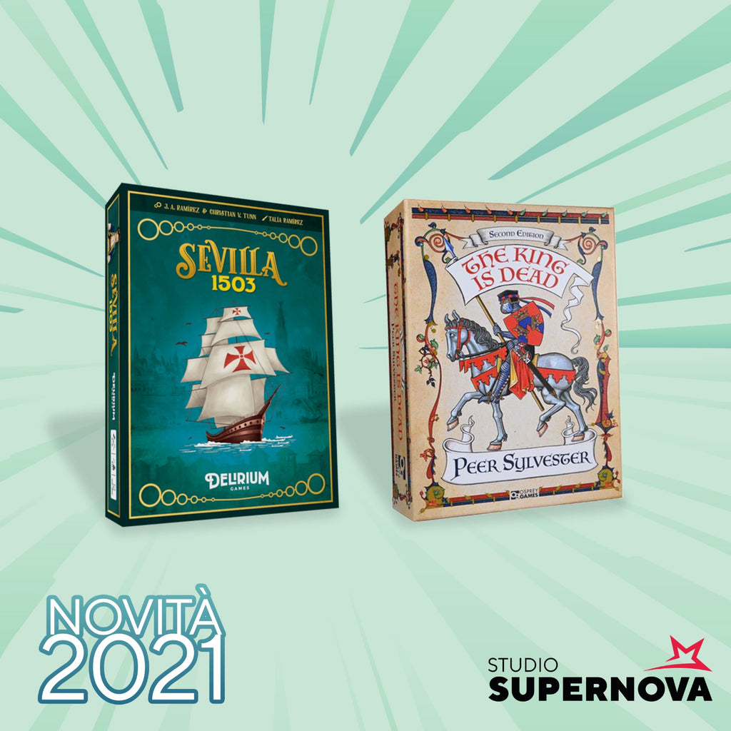Prime Novità 2021: The King is Dead e Sevilla 1503!