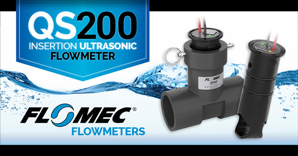 QS200 Ultrasonic Flow Meter