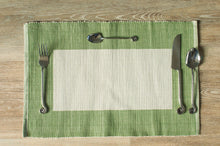 Load image into Gallery viewer, Jaffna Green Placemats - Set of 2