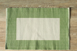 Jaffna Green Placemats - Set of 2
