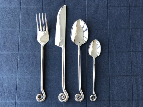 Cochlea 4 Piece Flatware Place Setting