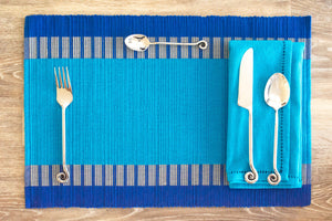 Serendib Blue Placemats - Set of 2