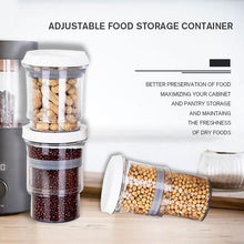 Load image into Gallery viewer, Adjustable Food Storage Container