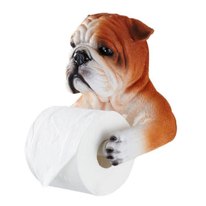 Cute Dog Toilet Paper Holder
