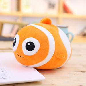 New Ocean Alliance Animal Foam Particles Plush Toy