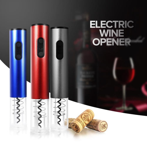 Electric Wine Opener Corkscrew Automatic Wine Bottle Opener