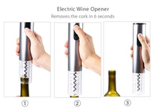 Load image into Gallery viewer, Electric Wine Opener Corkscrew Automatic Wine Bottle Opener