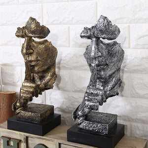 Creative Thinker Statues Retro Abstract Characters Figurine