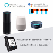 Load image into Gallery viewer, WiFi Thermostat Temperature Controller for Water/Electric floor Heating Water/Gas Boiler Works with Alexa Google Home 3A 16A