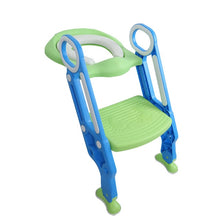 Load image into Gallery viewer, Baby Toilet Seat Kids Toilettes With Adjustable Ladder Child Potty Chair Folding Toilet Trainer Seat Step Children Potty Seat