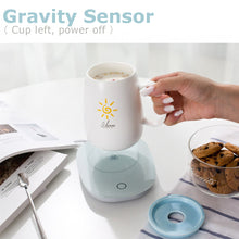 Load image into Gallery viewer, Electric Cup Mug Milk Tea Coffee Drink Warmer