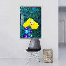 Load image into Gallery viewer, Handdraw Characters Colorful Canvas Painting