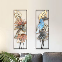 Load image into Gallery viewer, Flower Bird Shape Wall Mural Decoration