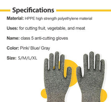 Load image into Gallery viewer, Cut Resistant Gloves (1 Pair)