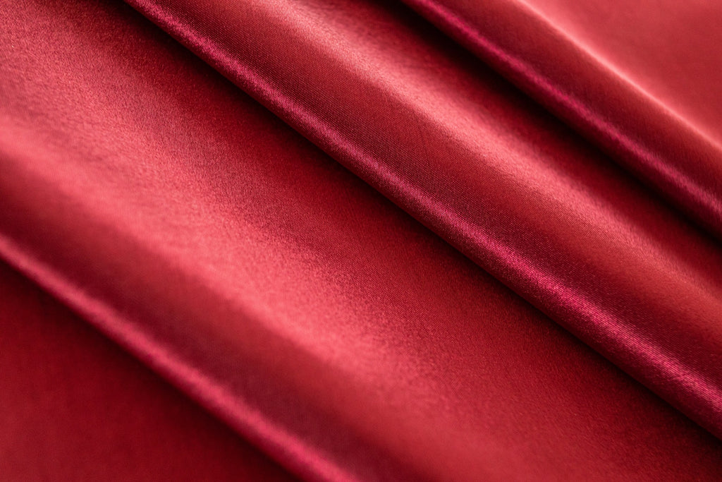 Satin,Red