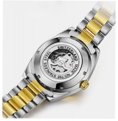 Millionaire's Watch - Swiss Made Automatic Watch
