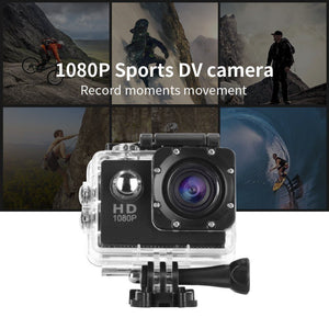 UHD Sports & Action Camera (FREE Accessories)