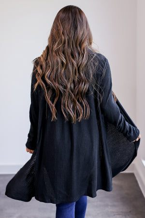 Style Of Mine Cardigan in Black