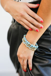 Sweet Dreams Bracelet Stack In Turquoise