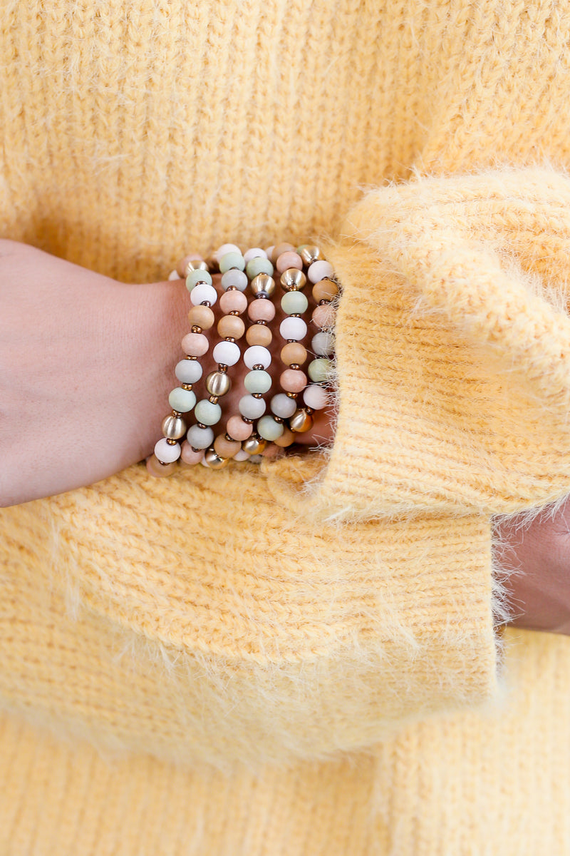 Giving Style Bracelet Stack