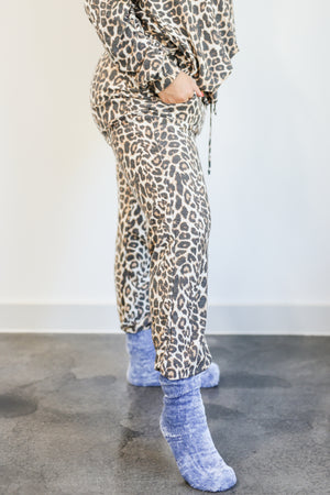 Animal Lover Leopard Joggers