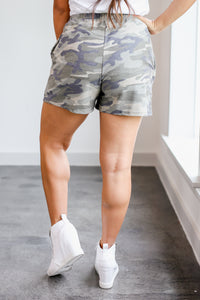 Casual Vibes Camo Shorts