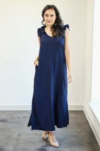 Meant For Greatness Maxi In Navy