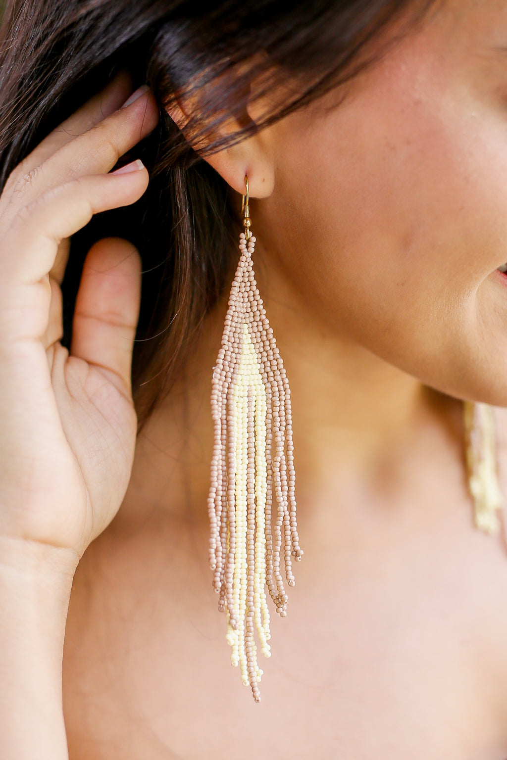 Festival Dreamin' Earrings In Cream