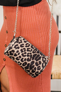 Leopard Perfection Cylinder Crossbody