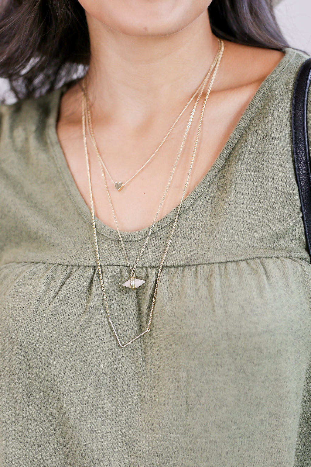 Just My Luck Layered Necklace