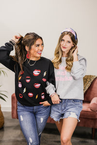 Lips And Lightning Sweatshirt