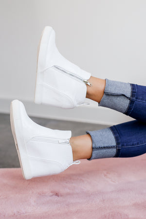 The Kimberly Sneaker In White