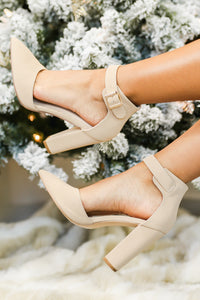 The Dorsay Heels In Nude