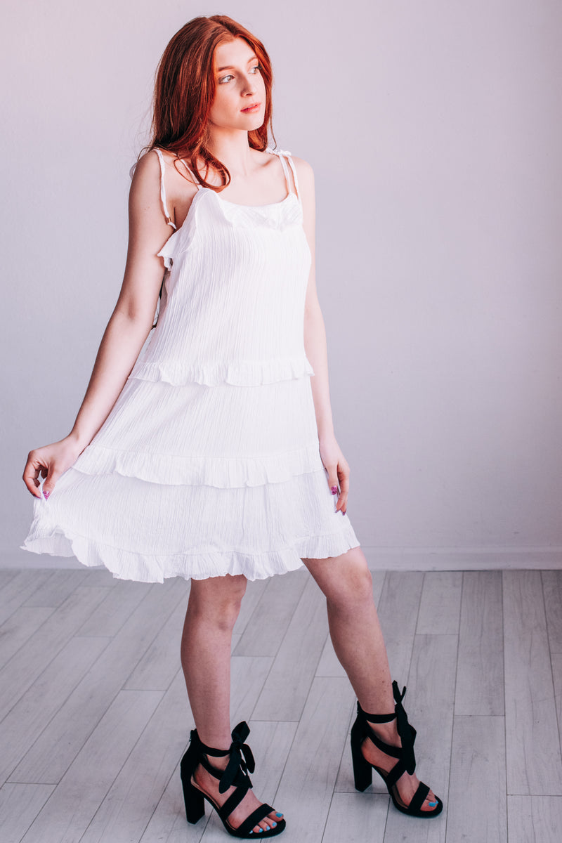 Hamptons Must Have Shift Dress In White