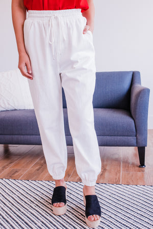 The Jessica Jogger In Vintage White
