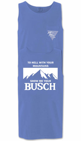 Show Me Your Busch Pocket Tank Top