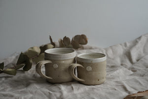 The Banded Rustic Mug