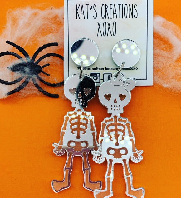Skeleton Friends Dangles